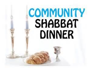 CommunityShabbatdinner
